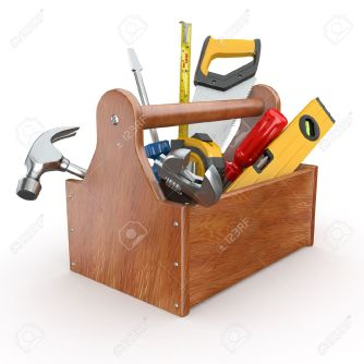 11510921-toolbox-with-tools-skrewdriver-hammer-handsaw-and-wrench-3d-stock-photo