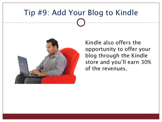 kindle tip 9